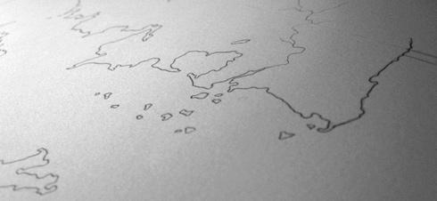 Some coastlines of Calendria (© electrofork)