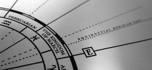 Atlas of Calendria- compass rose-in-progress (© electrofork)