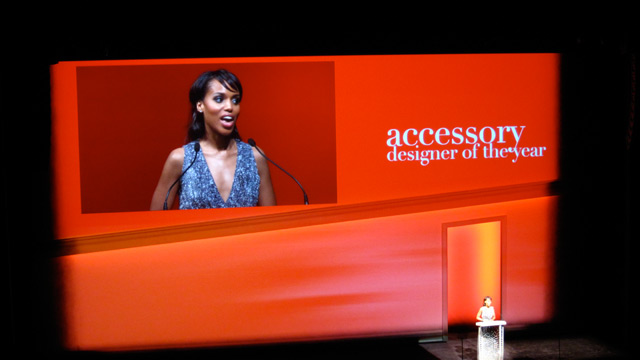 Kerry Washington, presenter for Accessory Designer of the Year
