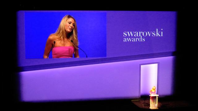 Blake Lively dishes out the Swarovski Awards