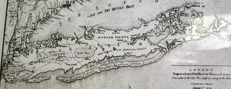 1779 Map of Fire Island