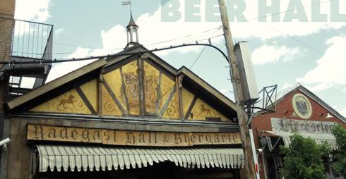 Radegast Beer Hall, Williamsburg, Brooklyn