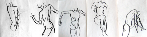 five_short_poses