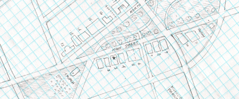 graph paper map