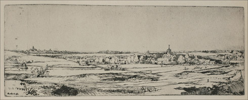 The Goldweigher's field by Rembrandt