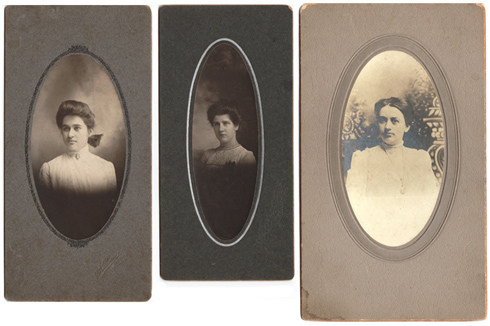3 turn-of-last-century photographs