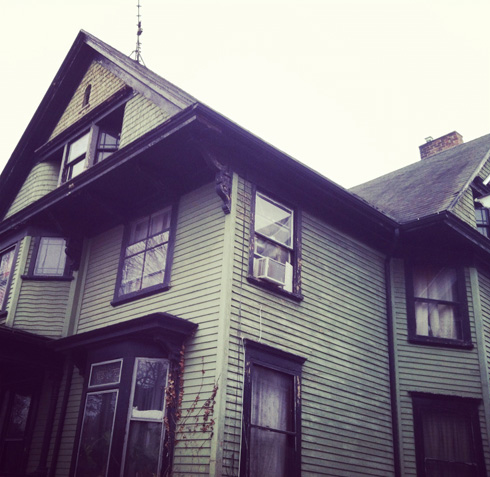 a house in the South Wedge, Rochester, NY