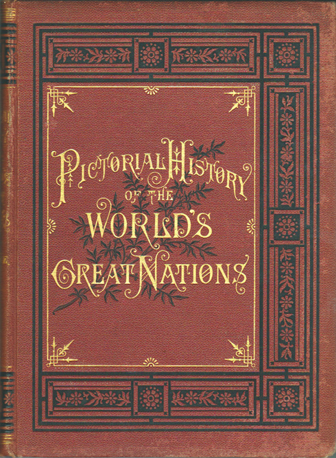 A Pictorial History of the World's Great Nations (book cover)