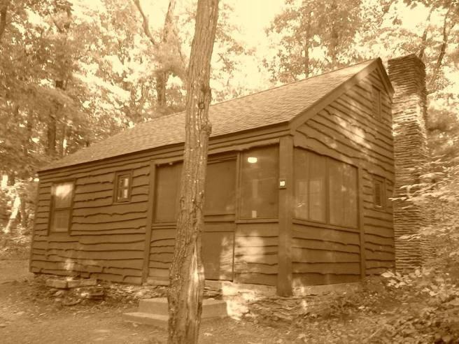 Cabin in Lake Taghkanic State Park