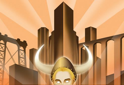 Metropolis & Big Lebowski inspired image
