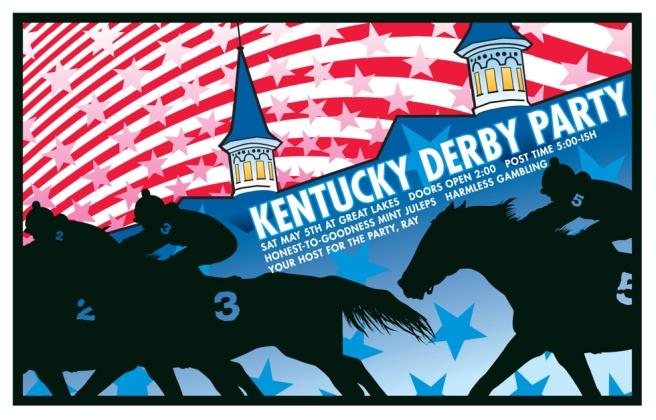 Electrofork Kentucky Derby poster