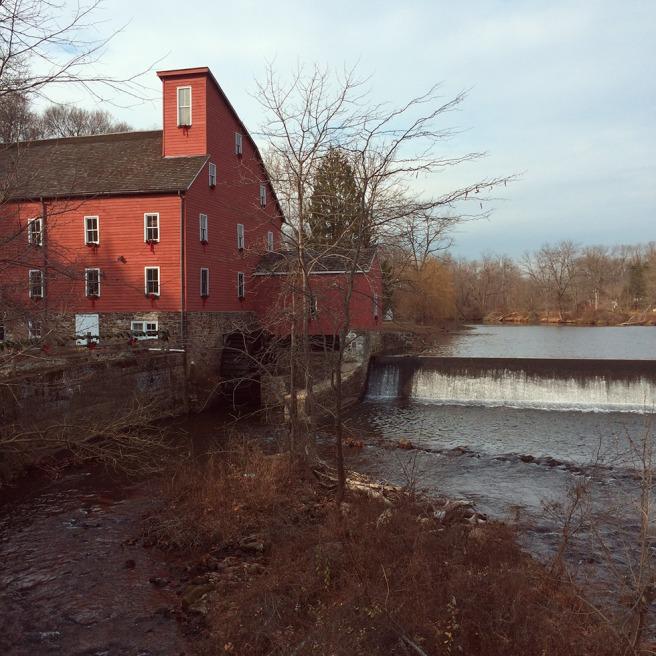 The mill in Clinton, NJ