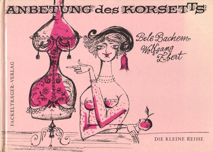 """Anbetung des Korsetts"" book cover"