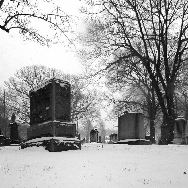 Snow in Green-Wood Cemetery