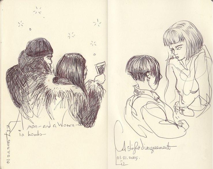 Sketches, Jan 21