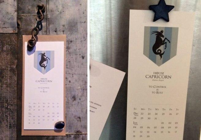 Electrofork 2015 Zodiac calendar