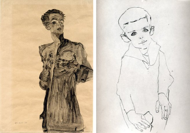 Schiele Portraits at Neue Galerie 2015