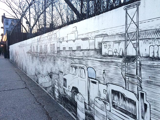 mural on Union Street