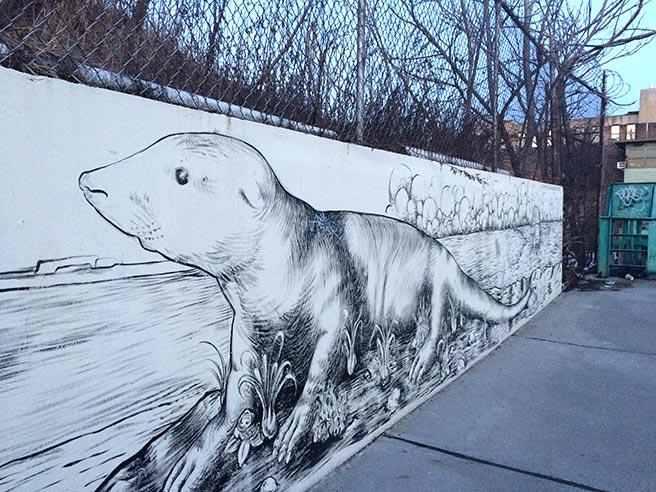mural on Union Street