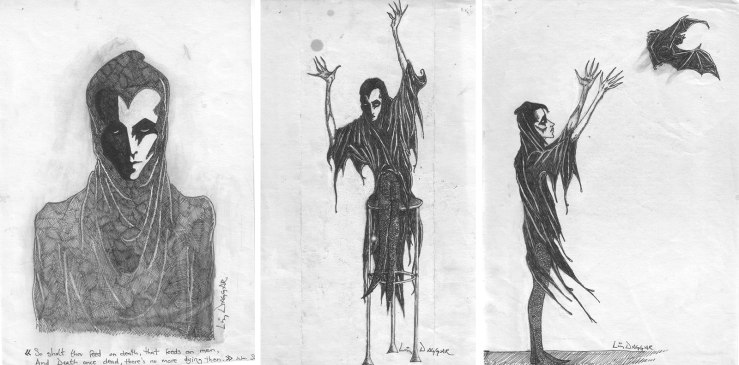Art Archive: drawings of The Dead Guy