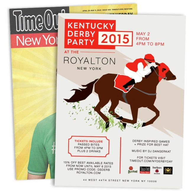 Royalton Kentucky Derby Party ad