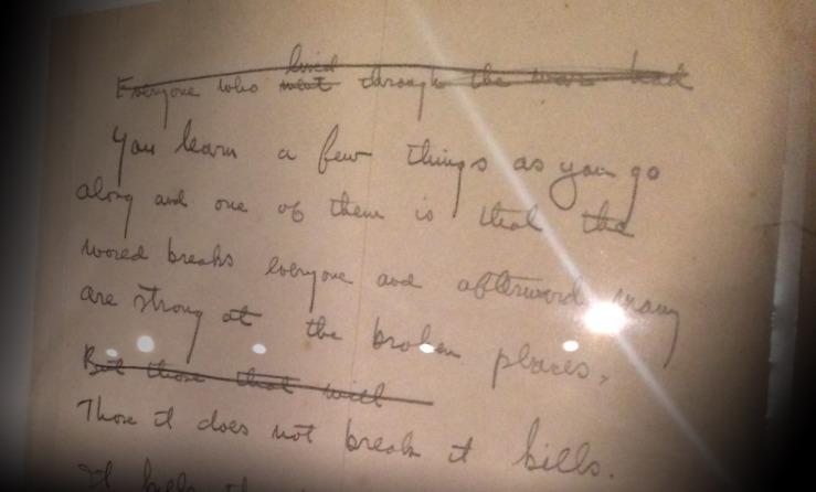 Hemingway draft