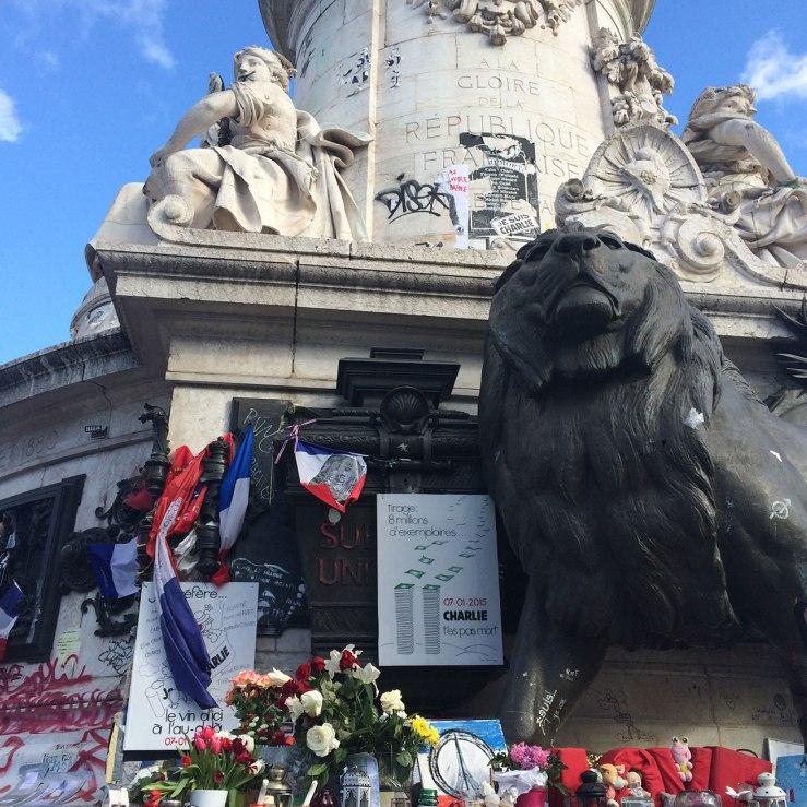 République memorial, Paris