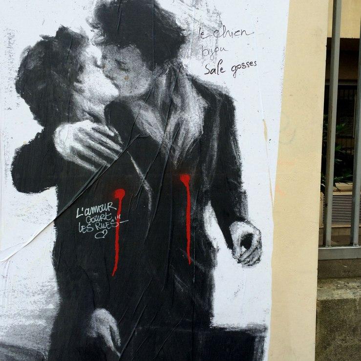 graffito, Paris