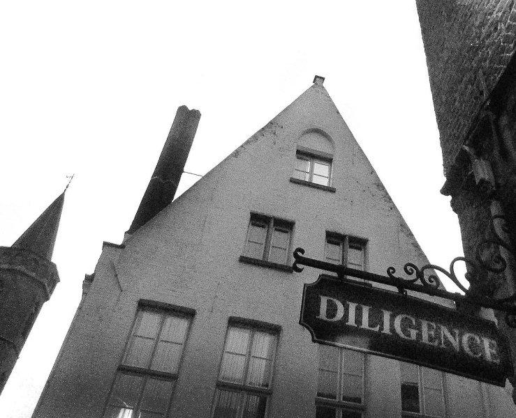 """Brugge building: """"Diligence"""""""
