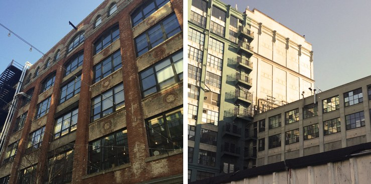 Industrial streetscapes of Sunset Park