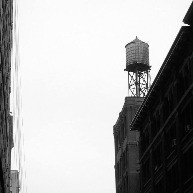 water tower in NoHo