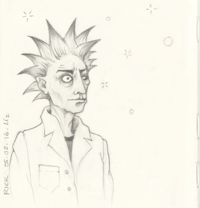 Rick of Rick & Morty