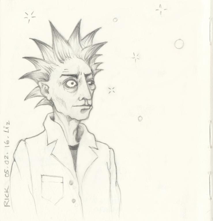 Rick of Rick & Morty