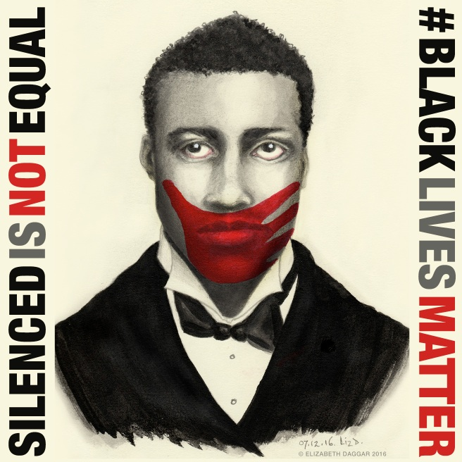 Silenced Is Not Equal: #BlackLivesMatter