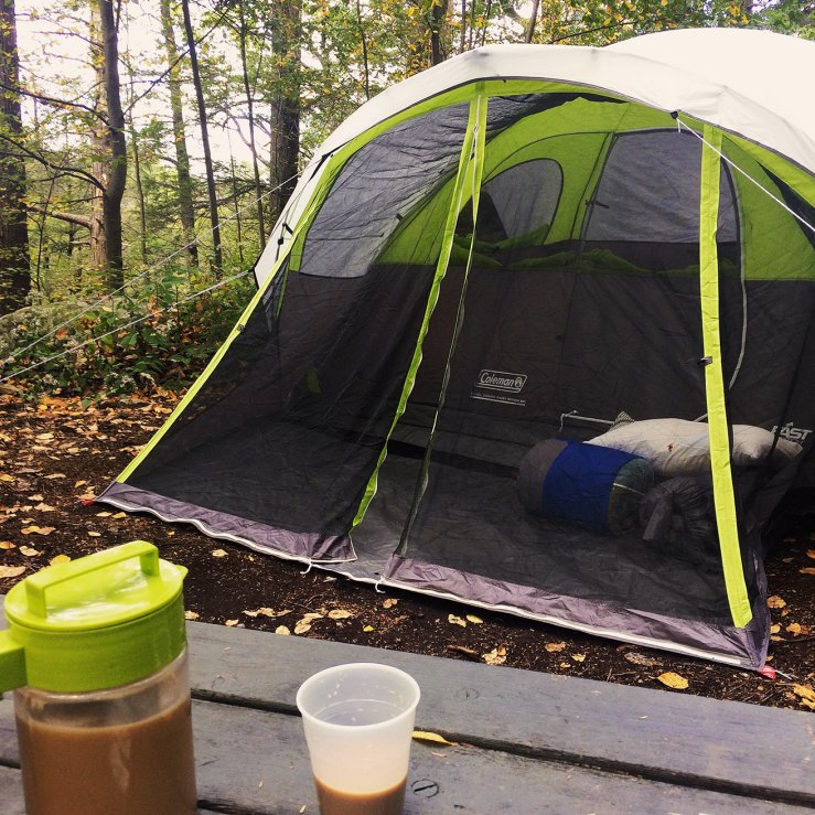 camping Fahnestock State Park
