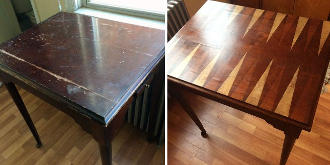 Before and After: a Queen Anne style reproduction, restored
