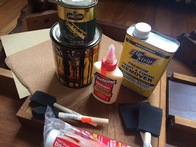 Wood stripping and refinishing supplies