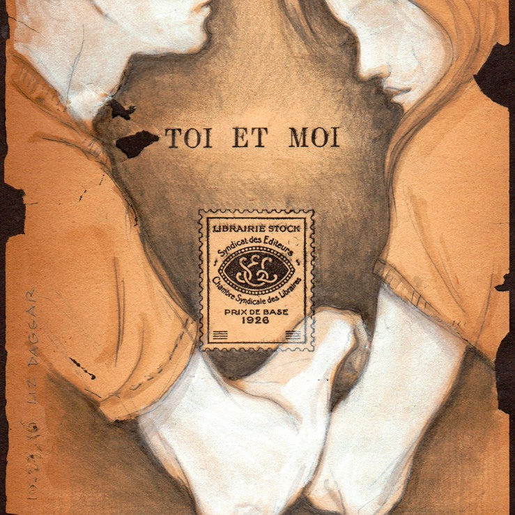 Imprint page of the Toi et Moi book