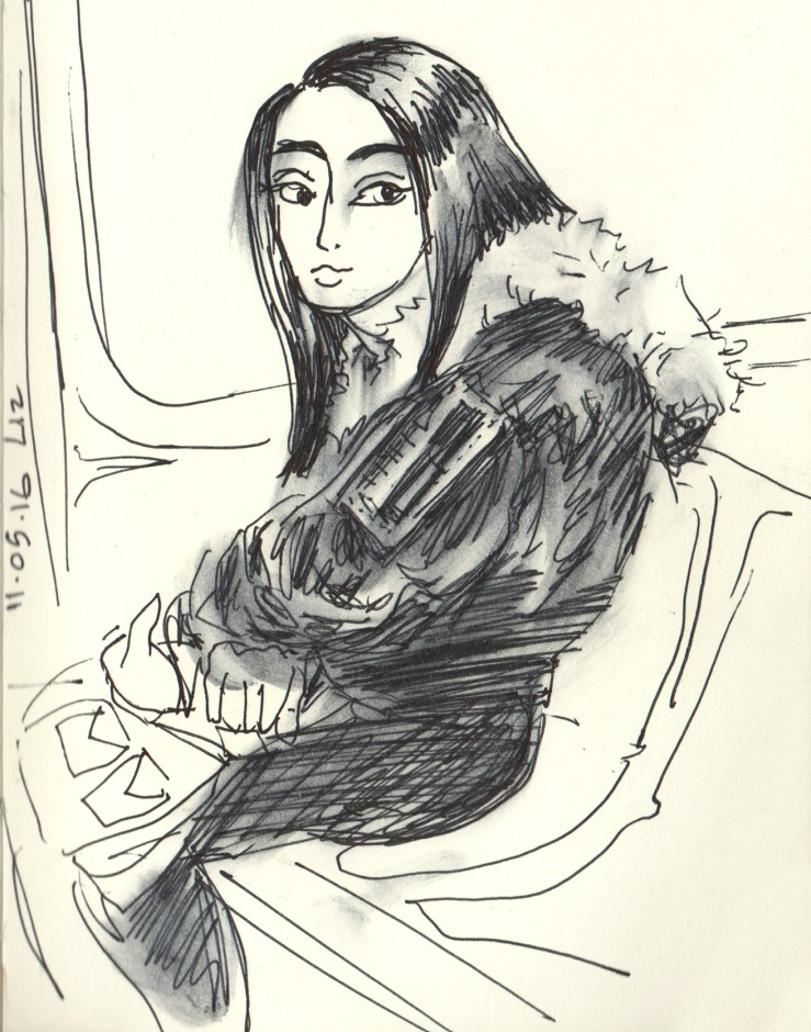 The Girl on the [G] Train