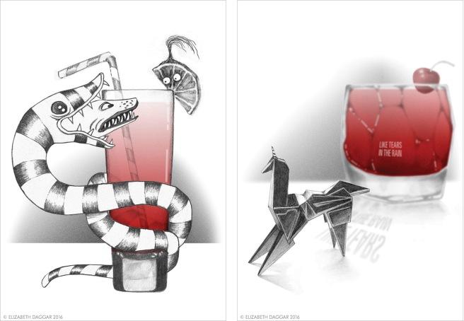Illustrations by E Daggar