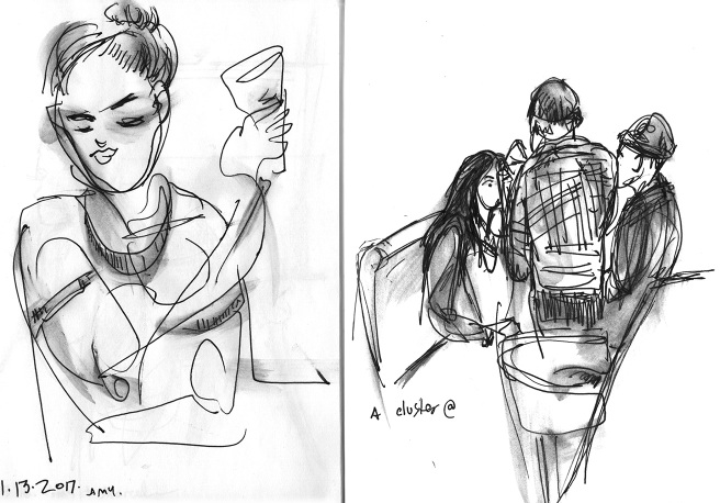 observational sketches