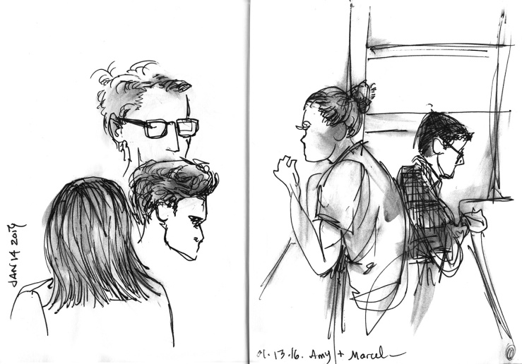 observational sketches