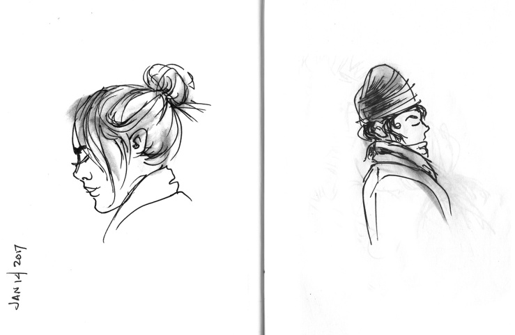 observations sketches
