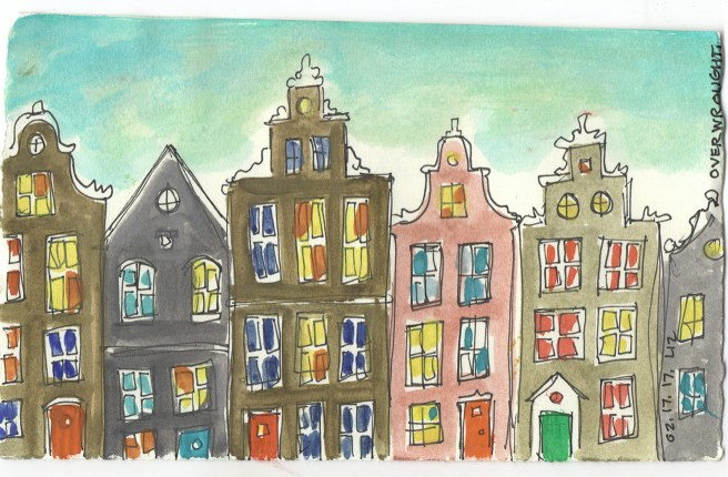 Amsterdam, from memory