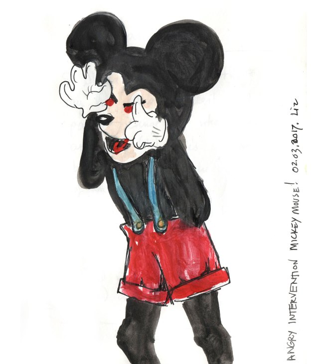 creepy Mickey Mouse™
