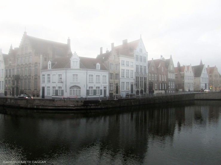 Brugge canal houses