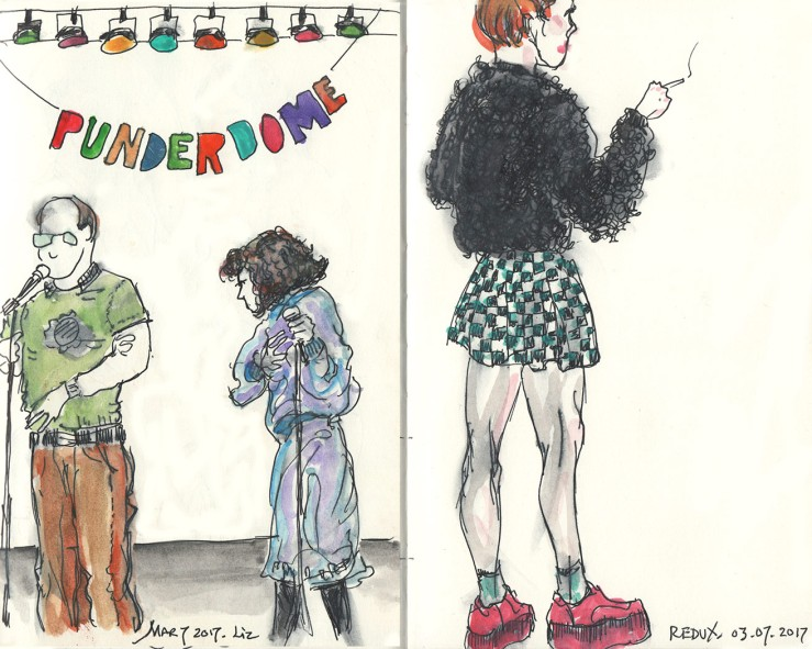 Punderdome comedy at Littlefield