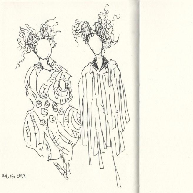 Comme des Garçons show at the Met