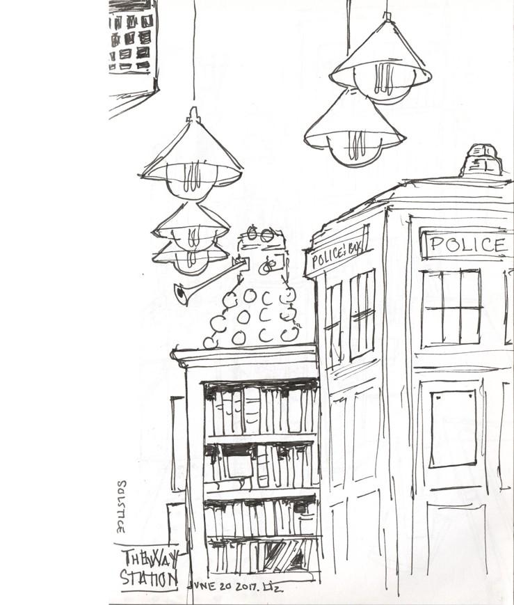 TARDIS at the Way Station