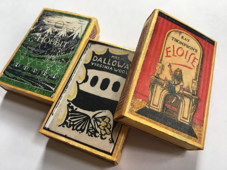 Book matchboxes from Word